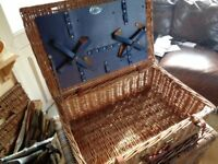 Picnic Basket By Optima, Excellent Condition.