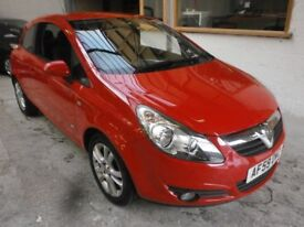 2009 VAUXHALL CORSA 1.4 SXI 3DOOR, HATCHBACK, SERVICE HISTORY, HPI CLEAR, DRIVES LIKE NEW