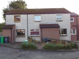 2 bedroom mid terraced house, 13 Glovers court Kinghorn.