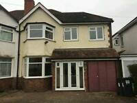 3 bed room house Hall green