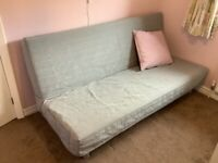Immaculate IKEA Beddinge sofa bed 3 seater/double bed with grey cover