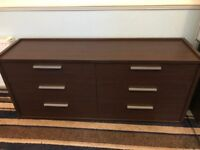 Large Wardrobe and Chest of Drawers