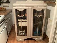 Retro/ vintage laundry/display cabinet,unit