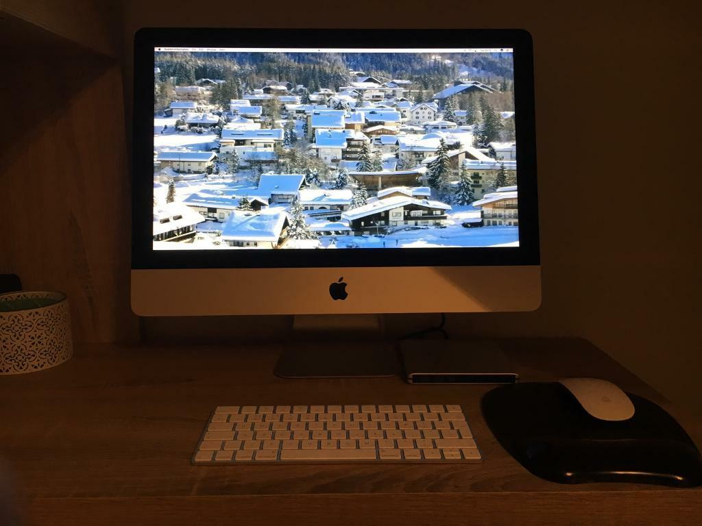 Apple iMac 21.5 4K new from June 2016in Hassocks, West SussexGumtree - Please see photos for full spec information (a lot to list)I bought this iMac in June 2016 from Currys so still has warranty. Only ever used to access iTunes and that was rare so is in as new condition with box etc. Please call me for anymore...