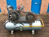 Ingersoll rand, 3 phase compressor, 340litre tank. Good condition