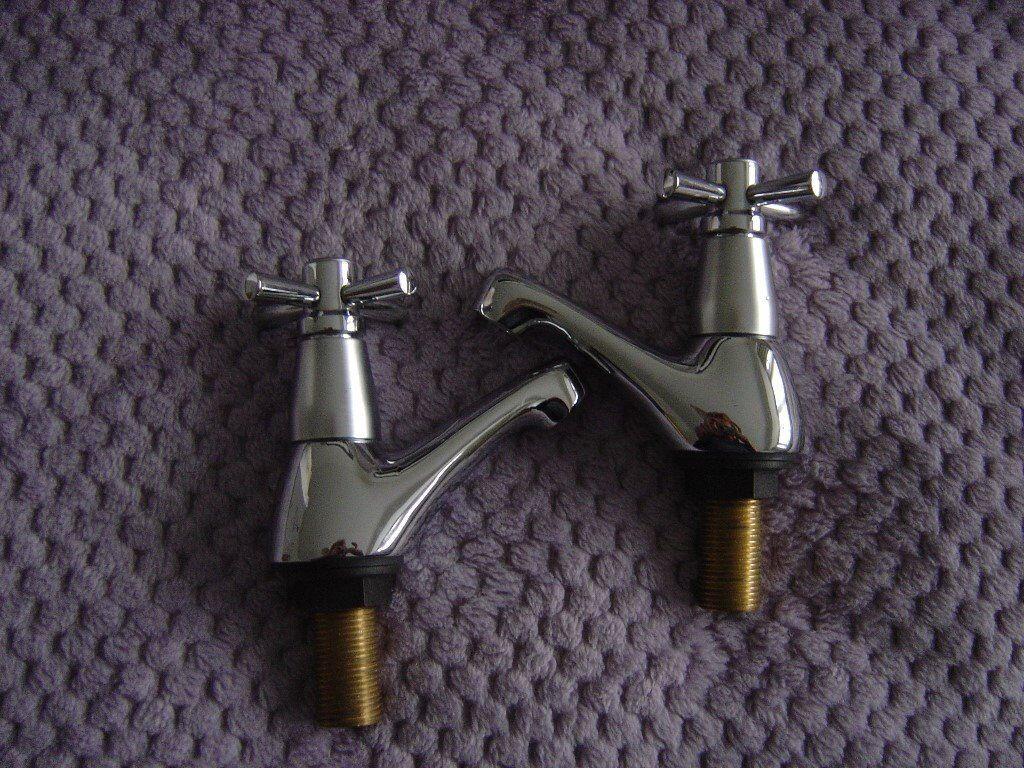 New-Boxed- pair Tapmate Basin taps | in Ruislip, London | Gumtree