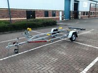 Brand new Tema Eco boat, rib trailer