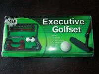 OFFICE GOLF EXCUTIVE PUTTER SET BRAND NEW IN BOX