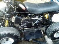 Small petrol quad bike