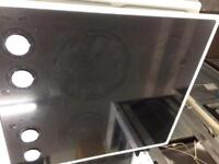 Black Hotpoint 60 by 60 ceramic electric hub good condition with guarantee