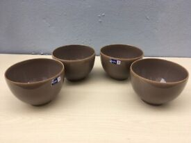 NEW DENBY TRUFFLE DEEP NOODLE/SOUP/RICE BOWL-OVEN/MICROWAVE/DISHWASHER/FREEZER - £12.50 EACH