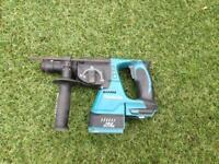 Makita 18v S.D.S brushless hammer drill