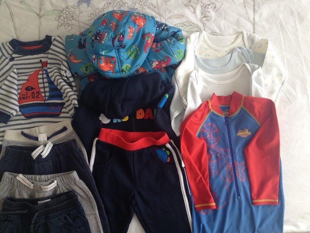 55ac4717e Boys Clothes Bundle - 12-18 months (11 items)
