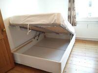 Quick Sale: IKEA Sultan Alsarp Double Storage Bed Frame