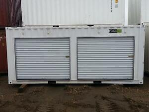 Sea Container storage unit with roll up doors, New Years Sale!