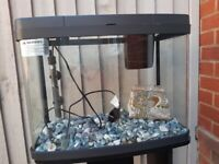 Panorama 40lt fish tank and stand