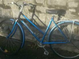 Retro tennage girls bike (halfords)