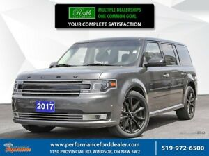 2017 Ford Flex Limited  ***Ecoboost, leather, NAV, AWD***