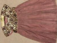 Girls Mini Boden Party Dress age 6-7