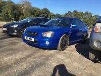 Subaru Impreza prodrive turbo px swap