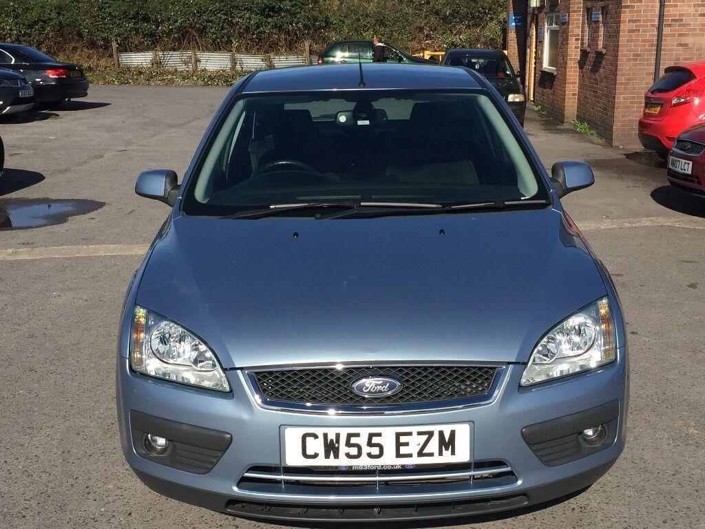 Ford Focus 1.6 Ghia 5dr 2005 (55 reg), Hatchback(30 days warranty)£1199