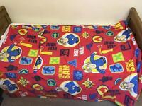 Fireman Sam bed set for cotbed / junior / toddler bed
