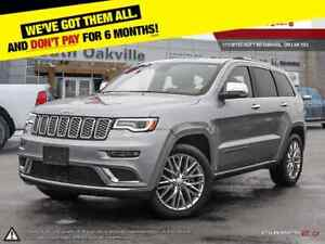 2018 Jeep Grand Cherokee Summit   DUAL DVD & SUNROOF   VENTED LE