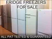BRANDED FRIDGE FREEZERS FOR SALE in Derby + with 3 Months Guarantee + FREE LOCAL DELIVERY