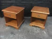 Beautiful pair of quality bedside cabinets in lovely condition