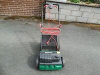 Qualcast lawn Scarifier and rake