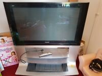 """46"""" Panasonic Viera with stand. Full working order and working remote."""