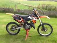 KTM SX 144 2009 MOTOCROSS FAST AND FURIOUS READY TO RACE.