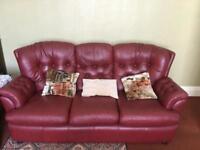 3 seater sofa and armchairs Porthmadog area LL49 9HU