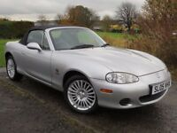 !!31K MILES!! 2005 MAZDA MX5 1.8 ARCTIC / LONG MOT AUG 2017 / SERVICE HISTROY / LEATHER SEATS /