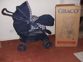 Graco Coach Rider Folding baby Pram in box