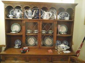 old charm oak dresser