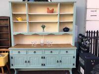 Stunning Vintage Jaycee Furniture Welsh Dresser Sideboard Cupboard Cabinet
