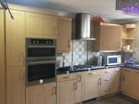 Whole Kitchen in very good condition plus Utility cuoboards too
