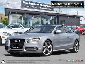 2009 AUDI A5 3.2 QUATTRO S-LINE |6 SPEED|PANO|PHONE|ONLY 96000KM