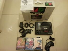 Sega Megadrive (Import Edition) Bundle (inc 3 games) - Great Birthday, Christmas or Wedding Present.