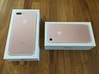IPhone 7 Plus 128gb brand new with receipt arrived last week EE GOLD