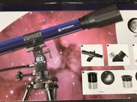 Bresser Skylux 70/700 Telescope (With Pro Lenses & Attachments inc)