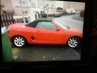 Lovely we convertible 2 door mgf