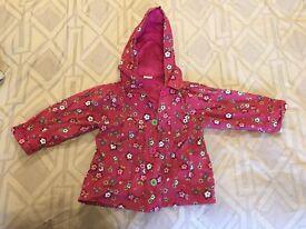 girl's rain coat 18-24mth