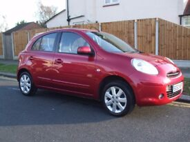 62 REG. NISSAN MICRA 1:2 ACENTA 5 DOOR, LOW INSURANCE GROUP, ONLY £ 30 PER YEAR ROAD TAX.