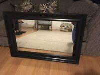 Ikea Hemnes mirror in black