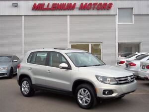 2014 Volkswagen Tiguan 4MOTION AWD / LEATHER / SUNROOF