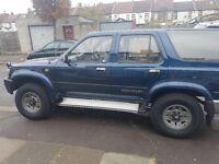 Toyota Hilux double cab import £2500