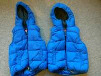 Next age 6 body warmers. Gilet. Excellent condition.