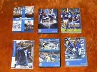 EVERTON DVD,S FOR SALE